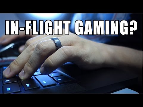PC Gaming on a Plane: Can it be done Comfortably?