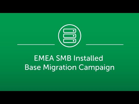 EMEA SMB installed base migration campaign - FR