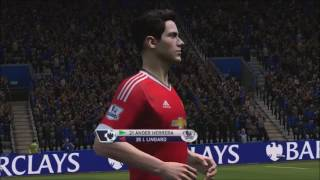 LEICESTER CITY VS MANCHESTER UNITED - FIFA 14 (PATCH MODDINGWAY 2015/2016) [PC]