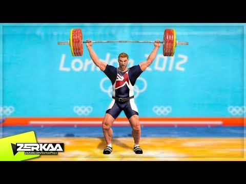 WORLD RECORD WEIGHT LIFTING (London 2012)