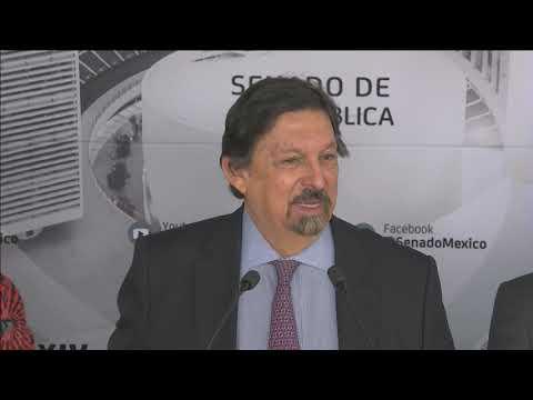 Conferencia Del Senador Napoleón Gómez Urrutia, Del 19 De Febrero De 2020
