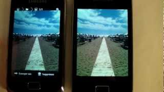 Samsung Galaxy Mini 2 : test et comparatif avec le Galaxy Ace
