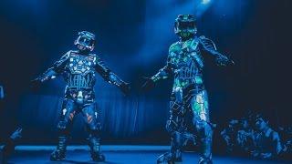 Comic Con SPb 2015 - шоу со спецэффектами 'Агниво'