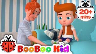 Chanson Boo Boo | Comptines Et Chansons | À Bébé Chanson | Boo Boo Kid
