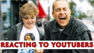 STRANGERS REACT TO YOUTUBERS 4   Chris Klemens