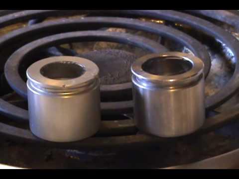 Aluminum Piston Vs Drm Stainless Steel Piston Youtube