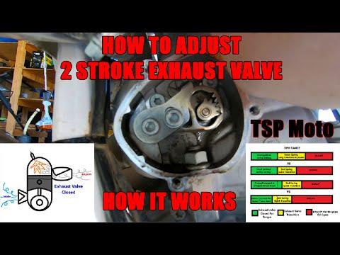 How Your 2 Stroke Exhaust Valve Works & How to Adjust (KTM, Husky)