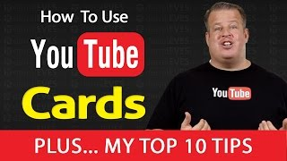 How To Setup and Use Youtube Info / Interactive Cards(YouTube just opened up a new feature to everyone and is soon to replace annotations. It's called YouTube Cards... Some call it Info Cards or Interactive Cards., 2015-03-19T15:14:18.000Z)