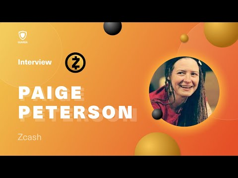 Guarda Interviews | Paige Peterson of ZCash