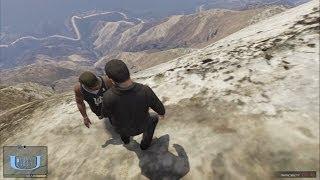 【GTA5】主人公3人を崖から突き落とす! thumbnail