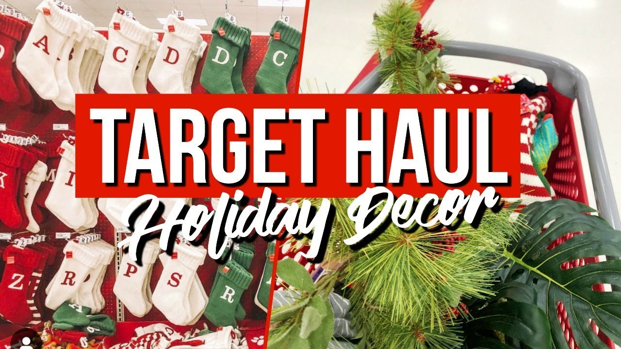TARGET HOLIDAY HOME DECOR SHOPPING HAUL