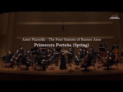 Piazzolla - The Four Seasons of Buenos Aires, Primavera Porteña (Violin: Ella Chang)
