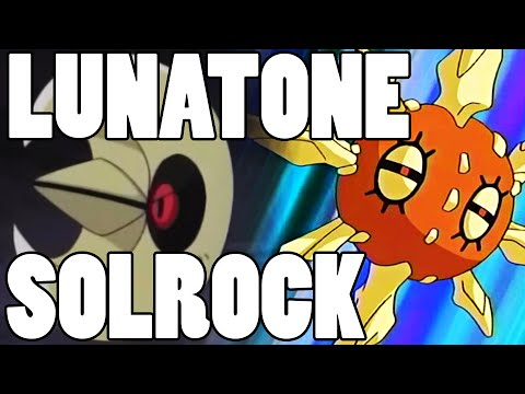 How To Use: Lunatone and Solrock! Lunatone and Solrock Strategy Guide ORAS / XY