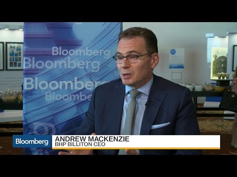 BHP Billiton CEO on Escondida Talks, Trump, Commodities