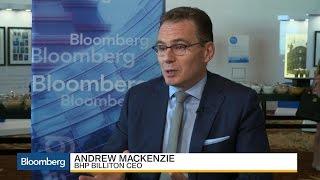BHP Billiton CEO on Escondida Talks, Trump, Commodities