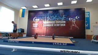 Чемпіонат України з важкої атлетики серед студентів 2018. В/к 94, 105 кг