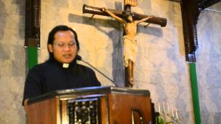 Renungan Minggu Adven III   14 Desember 2014 Paroki St  Yohanes Evangelista Kudus