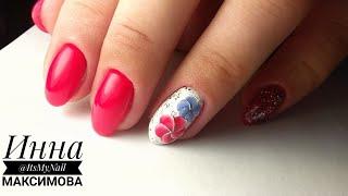 💖 ПРОСТОЙ дизайн для НАЧИНАЮЩИХ 💖 рисуем ЦВЕТОК на ногтях 💖 PATRISA NAIL 💖 Летний дизайн ногтей