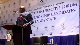 The Unlimited Errors of Akinwunmi Ambode at the LCCI debate.