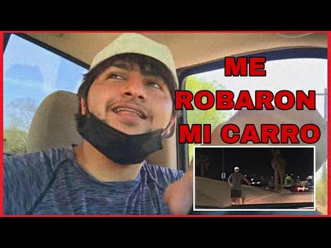 Me robaron el carro en mi primer video || EL MANGANGO