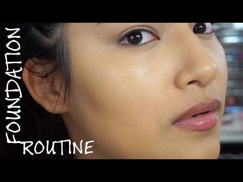 Current FULL Foundation & Contour + Highlight Routine - Alexisjayda