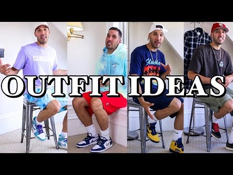 STREETWEAR OUTFIT IDEAS – 7 CASUAL OUTFITS WITH SNEAKERS FOR GUYS – NIKE – JORDANS – ADIDAS – KITH