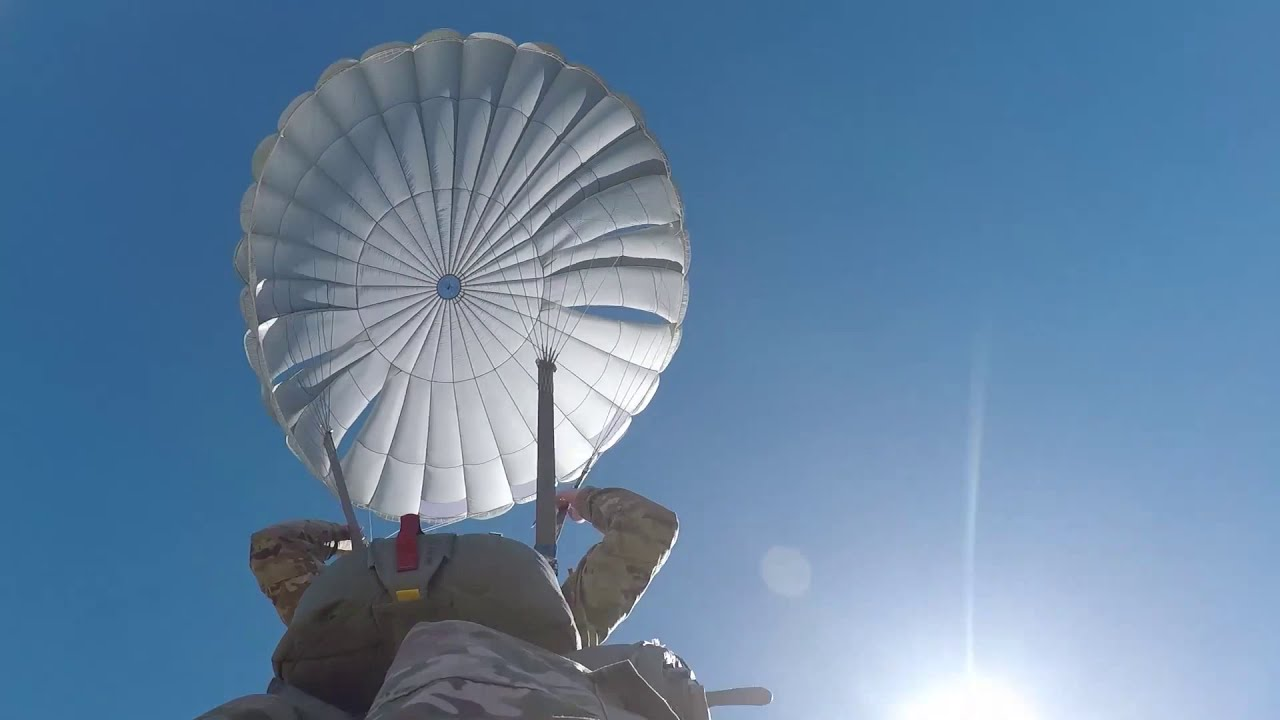 U.S. Army Paratroopers • Heavy Equipment and Personal Prop • October 13 Columbus, Indiana, 2020