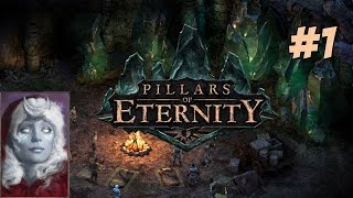 Let's Play Pillars of Eternity Gameplay #1 - Female Moon Godlike Druid - Gameplay Walkthrough PC HD