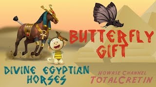 Butterfly Gift - The Mini Ride (Divine Egyptian Horses)