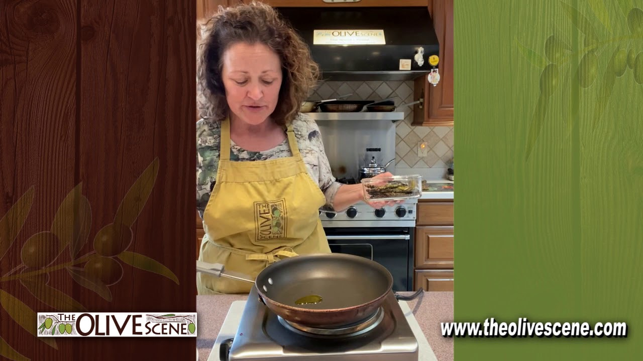 Cooking With The Olive Scene segment 4