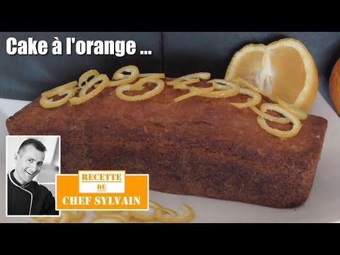 cake-à-l'orange---recette-par-chef-sylvain