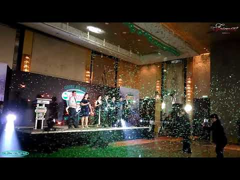 Funk Circuit 1kg Confetti Blizzard for Castrol Philippines Event at the Fairmont Makati Hotel