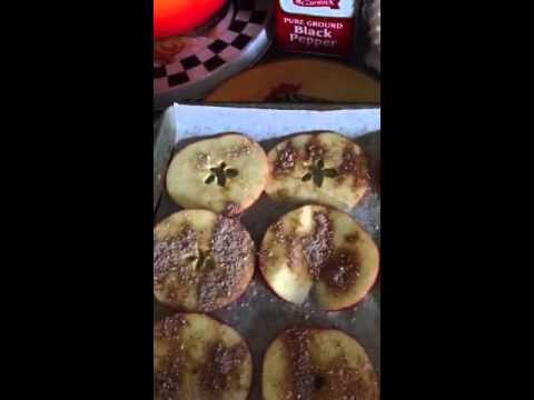 Hcg pumpkin spice apples chips