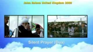 Jalsa Salana UK 2009 - Flag Hoisting Ceremony