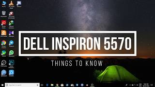 Dell New Inspiron 5570 Full Review | Things to Know | 8th Gen Laptop | FAQ