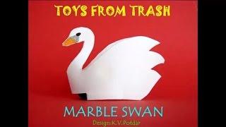 Marble Swan | Marathi | Amazing Rolling Toy