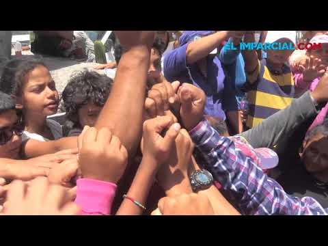 Marcha la Caravana Migrante en Hermosillo