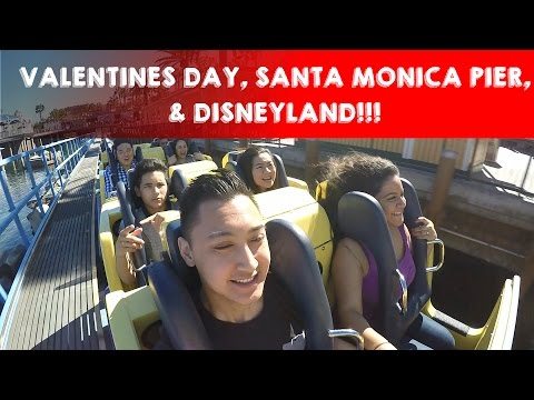 February 14&15, 2016 | VALENTINES DAY, SANTA MONICA PIER, AND DISNEYLAND!!!
