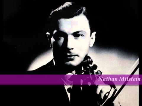 Nathan Milstein plays Chopin Nocturne C sharp minor, early recording 1935