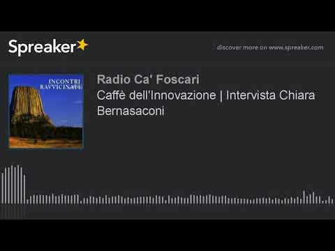 Caffè dell'Innovazione | Intervista Chiara Bernasaconi