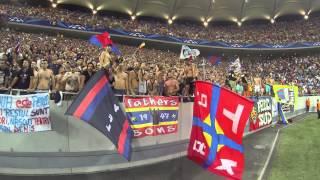 Steaua - Legia, 1:1 atmosfera gol Steaua 21.08.2013