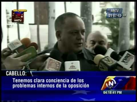 Diosdado Cabello denuncia a Posada Carriles y Eduardo Macaya Álvarez tras planes de magnicidio
