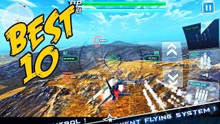 Top 10 Most Realistic Air Combat Games For Android 2018 [ INSANE GRAPHIC ]