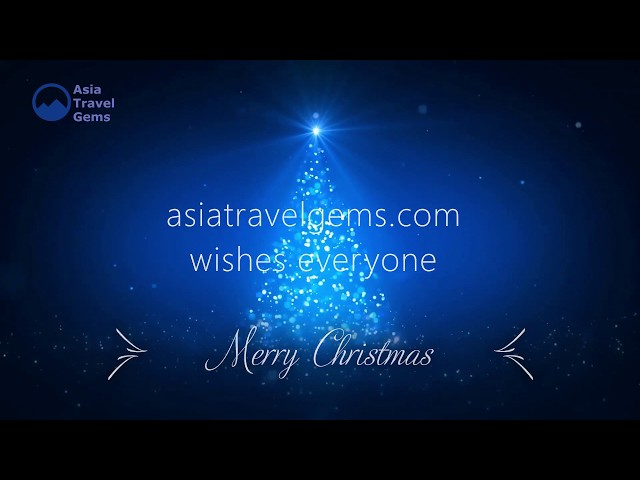 Merry Christmas by Asia Travel Gems - Best Places To Visit in Asia