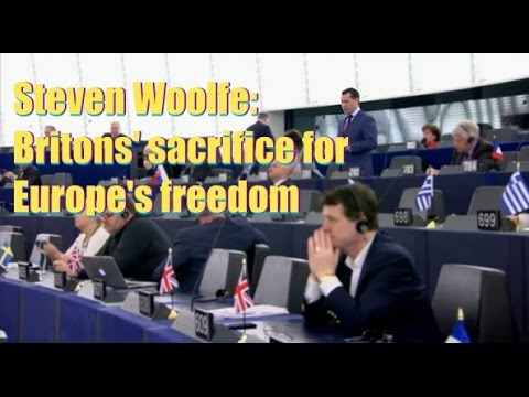 Steven Woolfe: Britons' sacrifice for Europe's freedom
