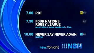 NBN Television - Lineup #2 (25/10/2014)