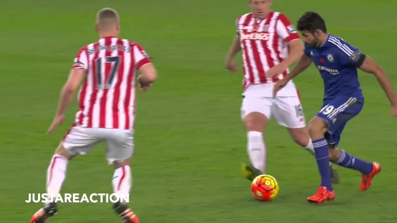 D.Costa VS Ryan Shawcross // he stinks!
