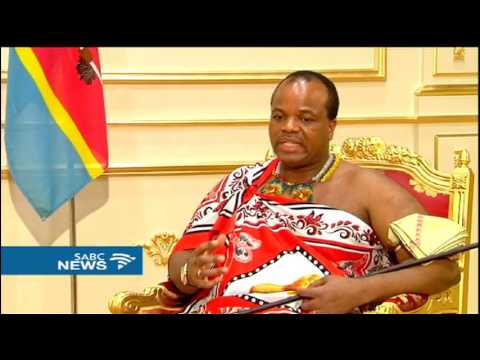 Swaziland's King Mswati 111 hails good relations with South Africa
