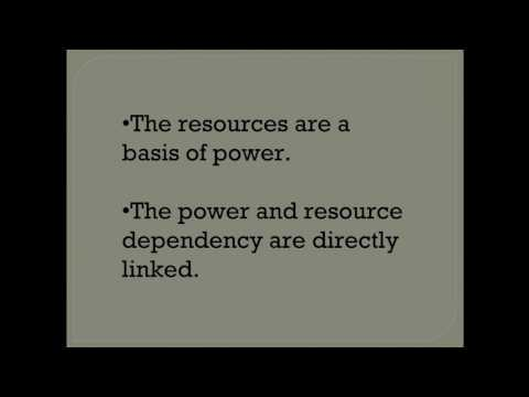 Institutional and Resource Dependency Theory