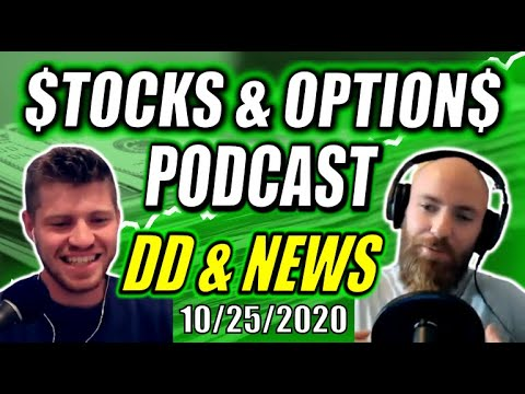 STOCKS PODCAST | SPAQ Merger Wednesday, SDC Calls After ALGN Moons, Huge Earnings Week & Election